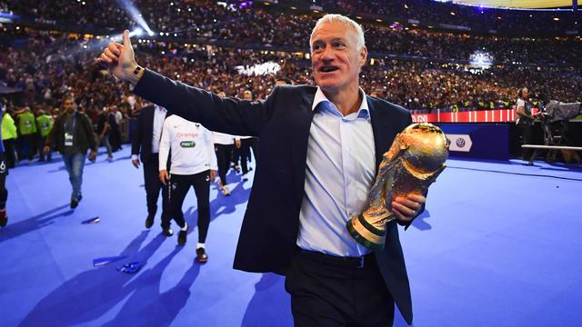 Vainqueur de la Coupe du monde avec les Bleus, Didier Deschamps est en lice pour le trophée de meilleur entraîneur.