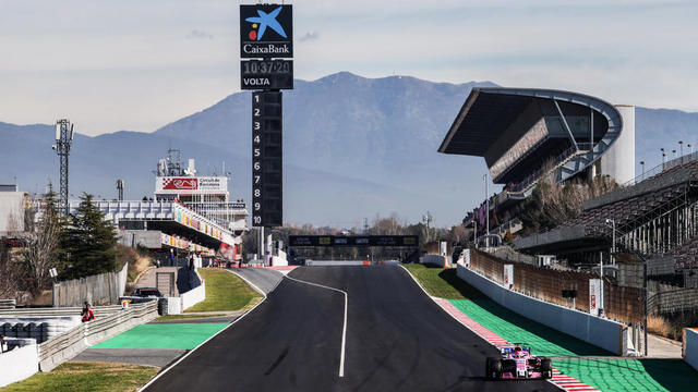 Le Grand Prix d'Espagne se tient en mai sur le circuit de Catalogne à Montmelo (Barcelone).