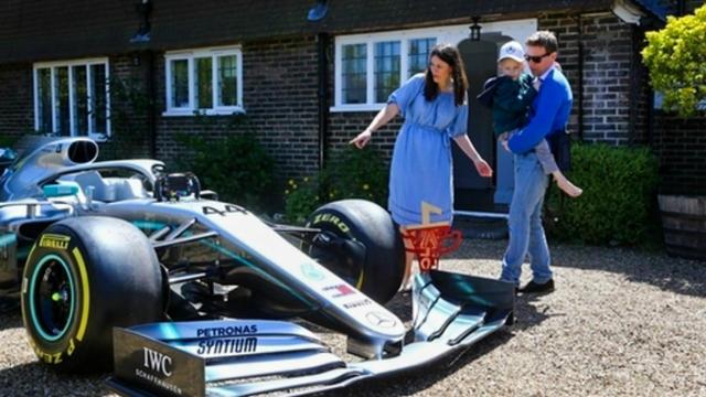 Le jeune garçon avait envoyé un message d'encouragements à Lewis Hamilton juste avant le Grand Prix d'Espagne.