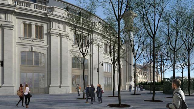 En 2020, le bâtiment rénové ouvrira ses portes au public pour accueillir un musée dédié à lart contemporain.