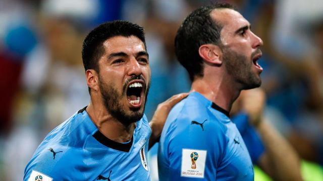 Luis Suarez et Diego Godin incarnent cette équipe d'Uruguay si solide et rugueuse.