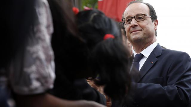 François Hollande, en juillet 2014.