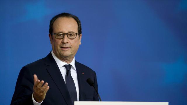 Le président François Hollande. [AFP ARCHIVES]