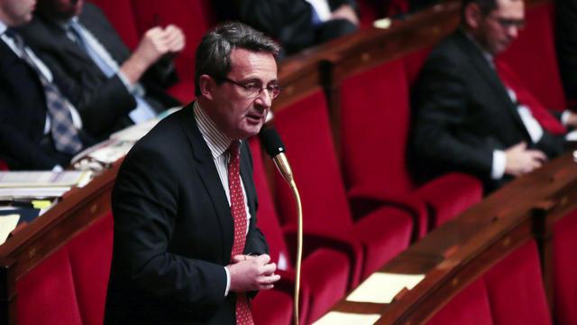 Jean-Christophe Fromantin à la tribune de l'Assemblée nationale en 2013.