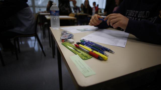 L'enquête porte sur les fuites de sujets de mathématiques dans toutes les filières. (illustration)