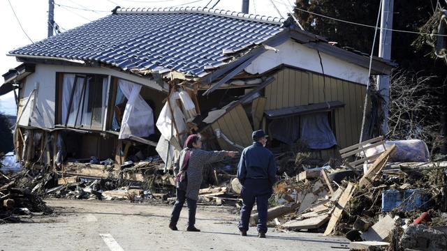 Le 11 mars 2011, la terre a tremblé à Fukushima.