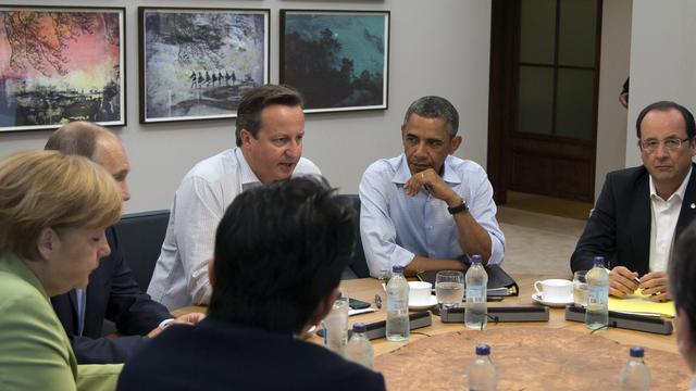 Au sommet du G8