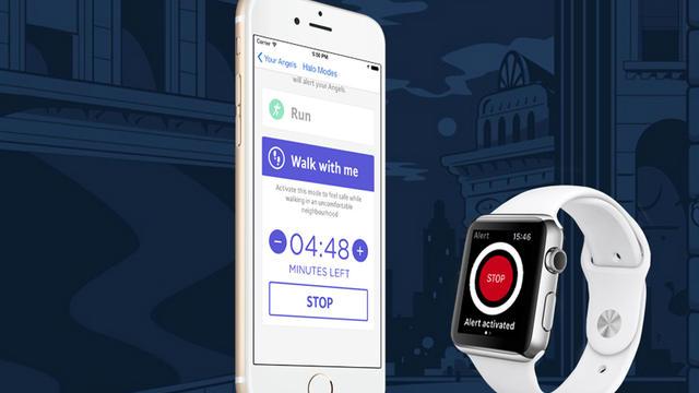 L'application est également compatible avec l'Apple Watch.