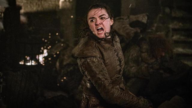 Arya Stark a été héroïque dans cet épisode 3 de la saison 8 de Game of Thrones.