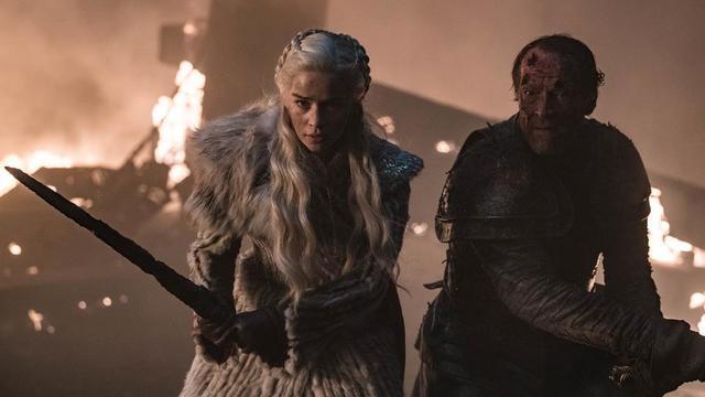 Daenerys et Jorah Mormont ont fait partie des nombreux personnages à avoir pris part à la bataille de Winterfell, face à l'armée des morts.