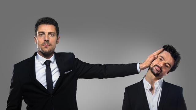 Les deux humoristes règlent leurs comptes dans Garnier contre Sentou