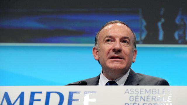 Le président du Medef, Pierre Gattaz, le 3 juillet 2013 à Paris [Eric Piermont / AFP]