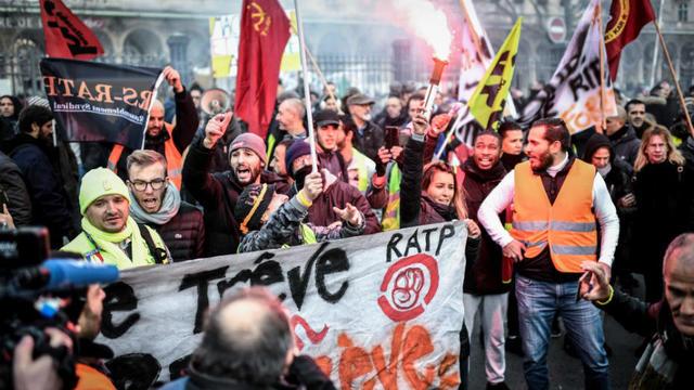 Les manifestations contre la réforme des retraites ont mobilisé des centaines de milliers de personnes.