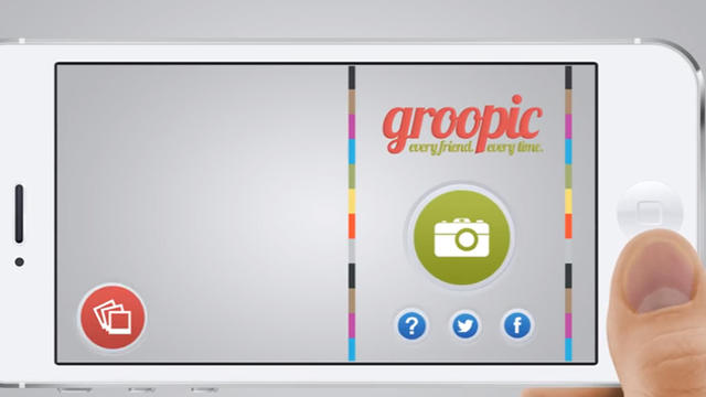 Groopic est une appli utile pour les photos de groupe.