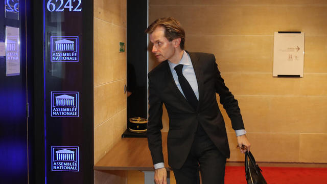 Guillaume Larrivé, député de la première circonscription de l'Yonne, à l'Assemblée nationale.