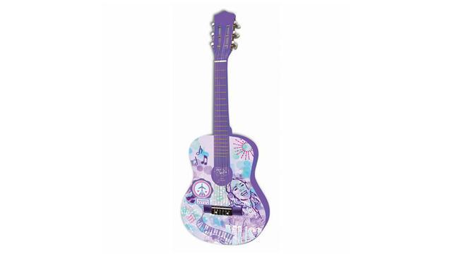 La guitare Violetta.