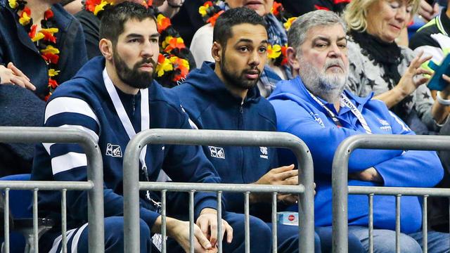 Nikola Karabatic avait suivi les deux derniers matchs de l'équipe de France des tribunes.