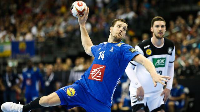 Kentin Mahé et les bleus se sont imposés grâce à un but à la dernière seconde de Nikola Karabatic.