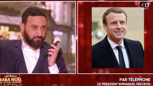 Cyril Hanouna Appelle Emmanuel Macron Pour Lui Souhaiter Bon