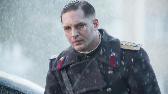 """L'acteur britannique Tom Hardy dans le thriller de Daniel Espinosa """"Enfant 44""""."""