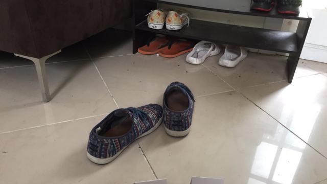 Ce paire de chaussures a été mise en vente au prix de… 650 dollars.