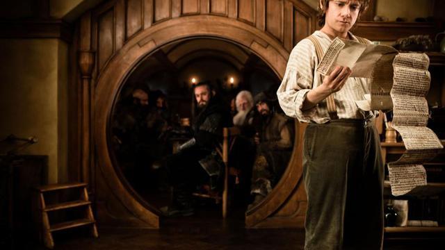 Une image du film Bilbo le hobbit.