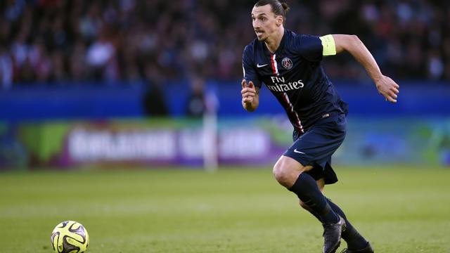 Zlatan Ibrahimovic et les Parisiens pourraient faire un pas de plus vers le titre en cas de victoire face à Guingamp.