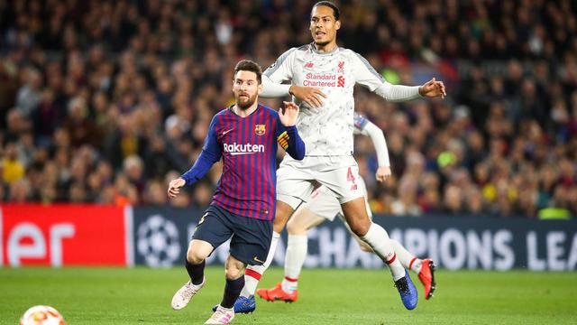 Van Dijk va tenter de prendre la vedette à Lionel Messi et Cristiano Ronaldo