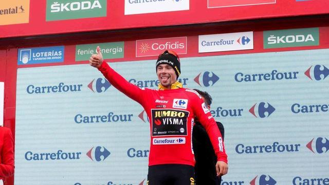 Première victoire sur un Grand Tour pour le Slovène