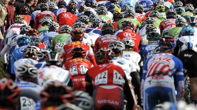 La mésaventure a eu lieu pendant le Circuit Het Nieuwsbald