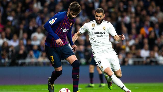 Le Clasico Barça Real Madrid fixé au 18 décembre |