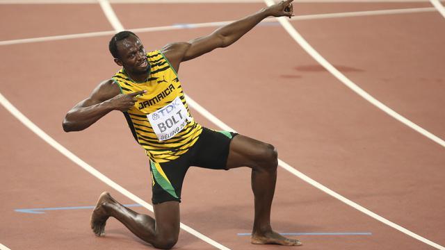Usain Bolt visera un nouveau triplé olympiques (100m, 200m et 4x100m) à Rio en août prochain.