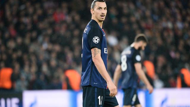 Zlatan Ibrahimovic a ouvert le score sur coup franc pour inscrire son 3e but de la saison en Ligue des champions.
