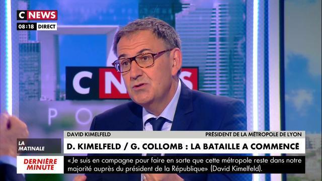 David Kimelfeld:«Si Gérard Collomb était revenu et avait demandé à reprendre la métropole, je lui aurais rendu»