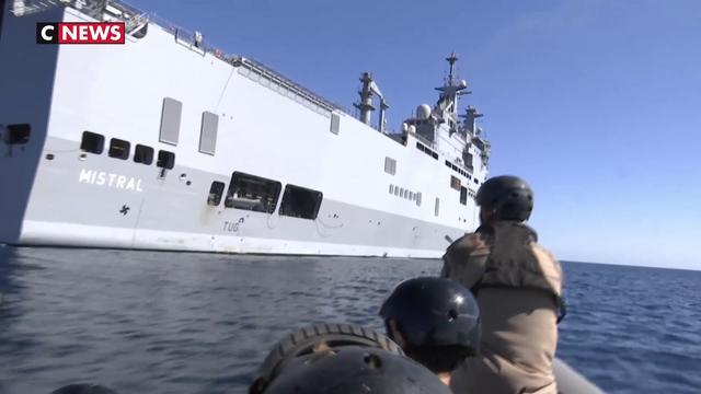 Un entraînement quotidien pour l'équipage du Mistral