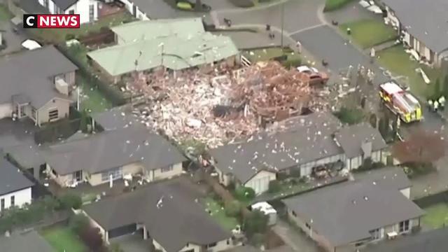 Nouvelle-Zélande : énorme explosion de gaz