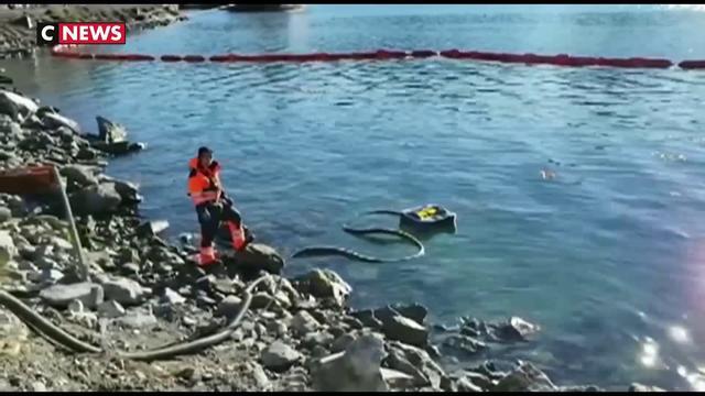 Marée noire dans les eaux pures du Chili