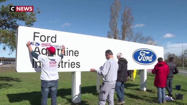 Usine Ford de Blanquefort : un rassemblement devant la cour d'appel