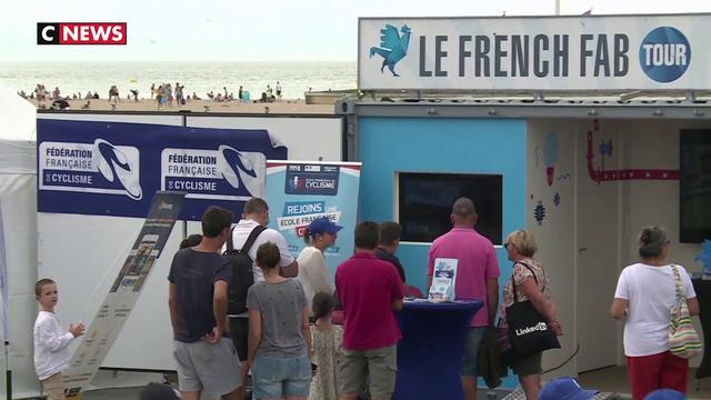 L'industrie française recrute sur les plages