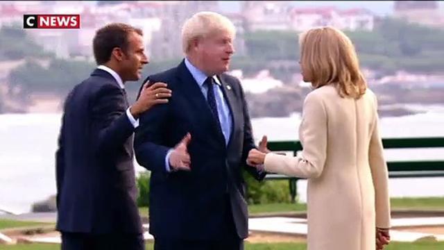 Avec Emmanuel Macron: dans les coulisses du G7
