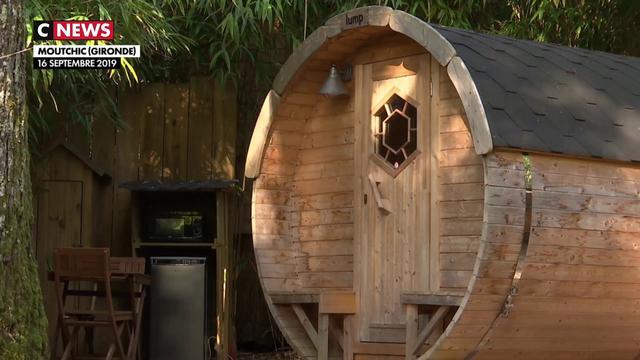 Cabanes en bois : les vacances éco-responsables séduisent en Gironde
