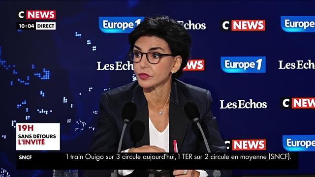 Rachida Dati : «Ce droit de retrait, le fondement juridique est discutable»