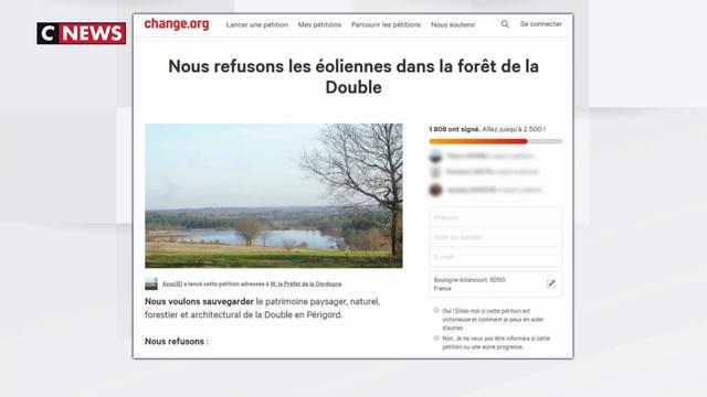 Dordogne : le projet d'éoliennes fait débat