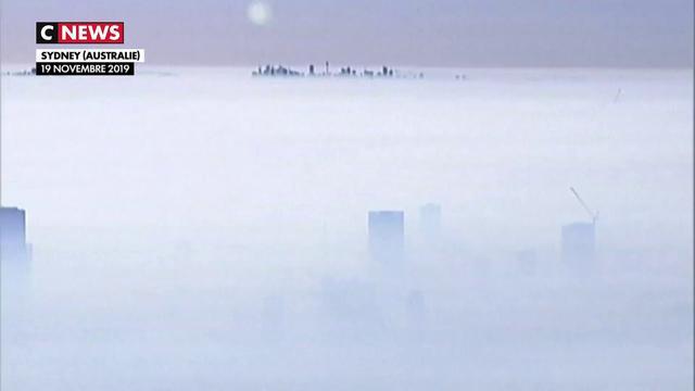 Incendies en Australie : un brouillard toxique recouvre Sydney