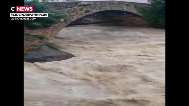 Les images amateurs impressionnantes des inondations dans le sud-est