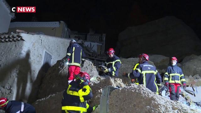 Alpes-de-Haute-Provence : Un éboulement impressionnant détruit plusieurs maisons