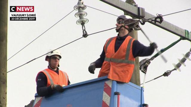 Tempête Elsa : En Auvergne, les agents d'Enedis s'activent pour redonner accès à l'électricité
