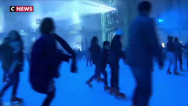 Paris : la patinoire géante de retour au Grand Palais
