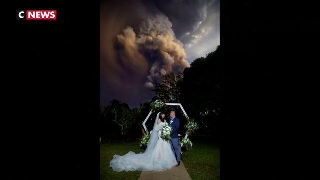 Un mariage… dans la fumée