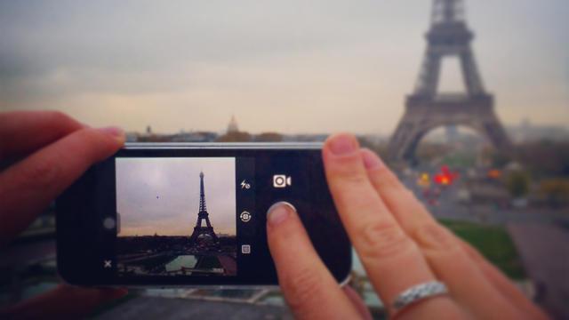 Les photos qui ont souvent le plus de succès sur Instagram portent souvent sur Paris et sa Tour Eiffel.